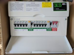 New 17th edition amendment 3 fuse board replacement, electricians in canterbury, canterbury electricians, commercial electricians, electricians in kent, commercial electricians in kent, fuse board change,
