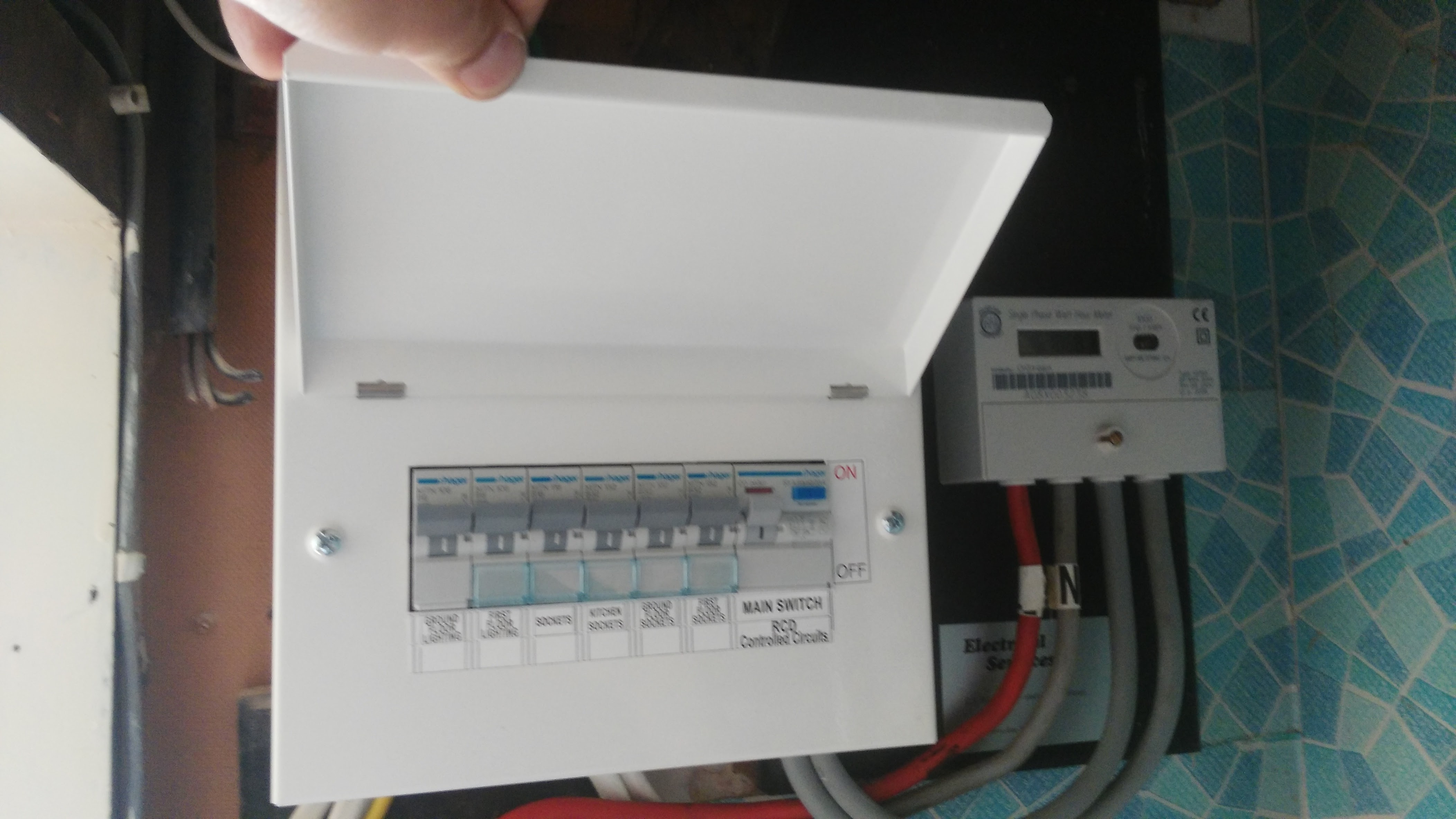 Fuse Board Change  Consumer Unit Replacement 17th Ed