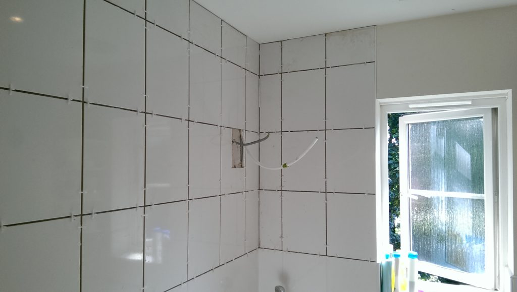 complete bathroom installations, power shower installations